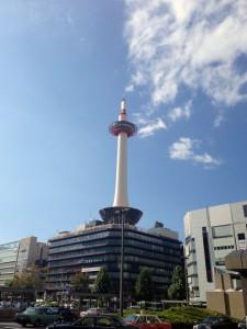 京都タワー駅前